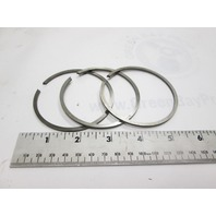 0378424 OMC Evinrude Johnson Outboard O.S. .040 Piston Ring Set of 3