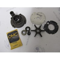 0382296 382296 OMC Evinrude Johnson 9.9-10 HP Outboard Water Pump Kit