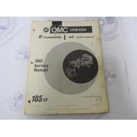 382515 OMC Evinrude Johnson Stern Drive 185 HP 1967 Service Manual