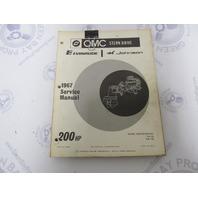 382516 OMC Evinrude Johnson Stern Drive 200 HP 1967 Service Manual