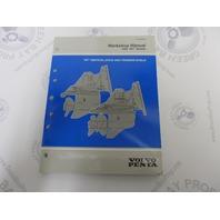 "1999 Volvo Penta Vertical Drive & Transom Shield Workshop Manual ""WT"" Models"