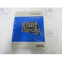 """1999 Volvo Penta Workshop Manual """"WT"""" Models Engine Components"""