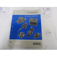 """1999 Volvo Penta Workshop Manual """"WT"""" Models Electrical/Ignition/ Fuel"""
