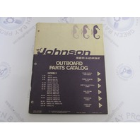 385065 1971 Johnson Sea-Horse Outboard Parts Catalog Final Edition