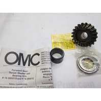 0390970 378079 OMC Evinrude Johnson Outboard Forward Gear & Bushing 18-25 Hp