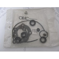 0396352 396352 OMC Lower Unit Gearcase Seal Kit Evinrude Johnson 14-28 HP