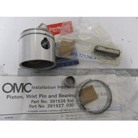 0396573 396573 OMC Evinrude Johnson 9.9 15 HP Outboard Piston Kit .030 OS