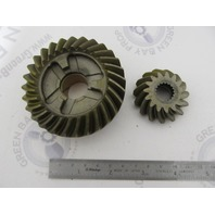 0397421 397421 OMC Evinrude Johnson 60 & 75 HP Forward Gear & Pinion Set NLA