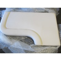 400013INT Platinum White Chaparral Signature 330 Aft Seat Cushion
