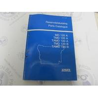 4219 Volvo Penta Parts Catalog MD 120A TMD 120A/B TAMD 120A/B 1984