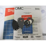 0433519 433519 OMC Fuel Pump Repair Kit Evinrude/Johnson 9.9-115HP