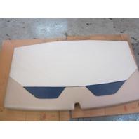Tan Blue Sun Pad For Rear Boat Deck Stern Cushion 74 Inch