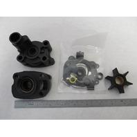 46-48744A3 Water Pump Kit w/Housing for Mercury Merc 200, 20 HP