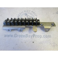 F438493 Force Outboard 3 Cyl Terminal Block & Bracket