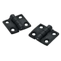"50-33891 Seachoice Boat Butt Hinges Pair Reinforced Nylon 1 1/2"" x 1 3/8"""