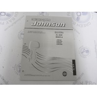 5005138 OMC BRP Johnson 25-30 HP R Outboard Parts Catalog 2002 Final