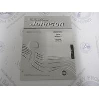 5005139 OMC BRP Johnson 25 HP TE  Outboard Parts Catalog 2002 Final