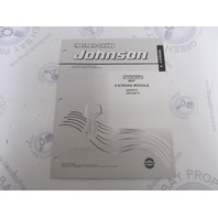 5005160 OMC BRP Johnson 8 HP 4-Stroke Outboard Parts Catalog 2003