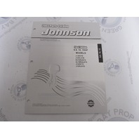 5005328 OMC BRP Johnson 9.9-15 HP Outboard Parts Catalog 2003