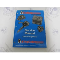 """500595 OMC Cobra Stern Drive Service Manual """"MD"""" Electrical / Ignition"""
