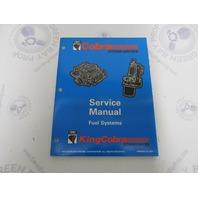 "500596 OMC Cobra Stern Drive Service Manual ""MD"" Fuel Systems"