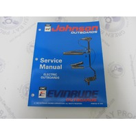 "500605 Johnson Evinrude Electric Outboard Service Manual ""ER"" 1994"