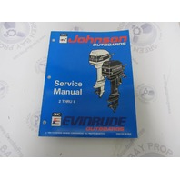 "500606 Johnson Evinrude Outboard Service Manual ""ER"" 2-8 HP 1994"