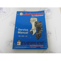 "500611 Johnson Evinrude Outboard Service Manual ""ER"" 150-175 HP 1994"