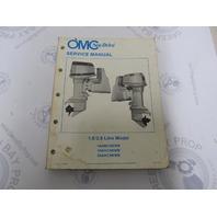 507553 1986 OMC Sea Drive Outboard Service Manual 1.6L 2.6L