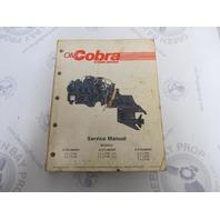 507605 OMC Cobra Stern Drive Service Manual 2.3-7.5L 4/6/8 CYL 1987