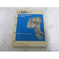 507623 1987 OMC Sea Drive Outboard Service Manual 1.6L Mechanical Steering