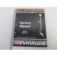 "507658 Johnson Evinrude Electric Troller Outboard Service Manual ""CC"" 1988"