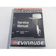 "507659 Johnson Evinrude Outboard Service Manual ""CC"" Colt/Junior-8HP 1988"