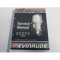 "507664 Johnson Evinrude Outboard Service Manual ""CC"" Loop V 120-300 HP 1988"