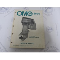 507709 1988 OMC Sea Drive Outboard Service Manual 1.6L Mechanical Steering