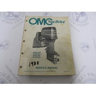 507710 1988 OMC Sea Drive Outboard Service Manual 2.0L 3.0L