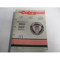507759 1989 OMC Cobra Stern Drive Service Manual MED MEF 2.3L-5.8L