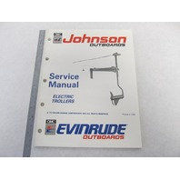 "507944 Johnson Evinrude Electric Troller Outboard Service Manual ""EI"" 1991"