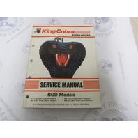 507954 OMC Cobra Stern Drive Service Manual 5.7L 350 454 King Cobra RGD