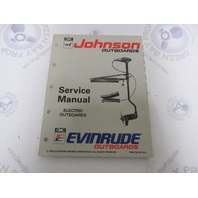 "508280 Johnson Evinrude Electric Outboard Service Manual ""ET"" 1993"
