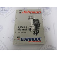 "508286 Johnson Evinrude Outboard Service Manual ""ET"" 150-175 HP 1993"
