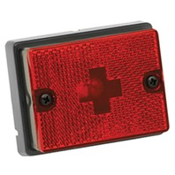 3113 Wesbar Trailer Red Side Marker Clearance Light