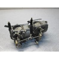 384235 384236 Evinrude Johnson Outboard Upper & Lower Carburetor 50 Hp 1971-73