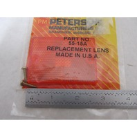 55-15A Peterson Manufacturing Amber Trailer Marker Replacement Lens