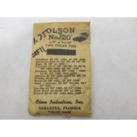 Olson No 20 Vintage SHEAR PINS, SP11, 1/4 x 1-1/8, Pkg of 2