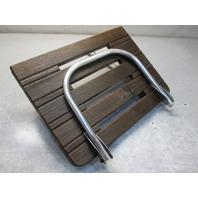 "Marine Boat Teak Wood Swim Platform 20.75"" x 15.5"" & 1 Step Ladder"