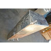 Aluminum Boat Gas Tank 20 Gallon 46 x 15 x 7.5 Inch