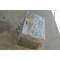 Aluminum Boat Gas Tank 15 Gallon 18.5 x 18 x 14 Inch