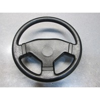 1992 Euroline Black Boat Steering Wheel 13""