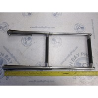 Windline Telescoping Stainless Steel 2 Step Boat Ladder